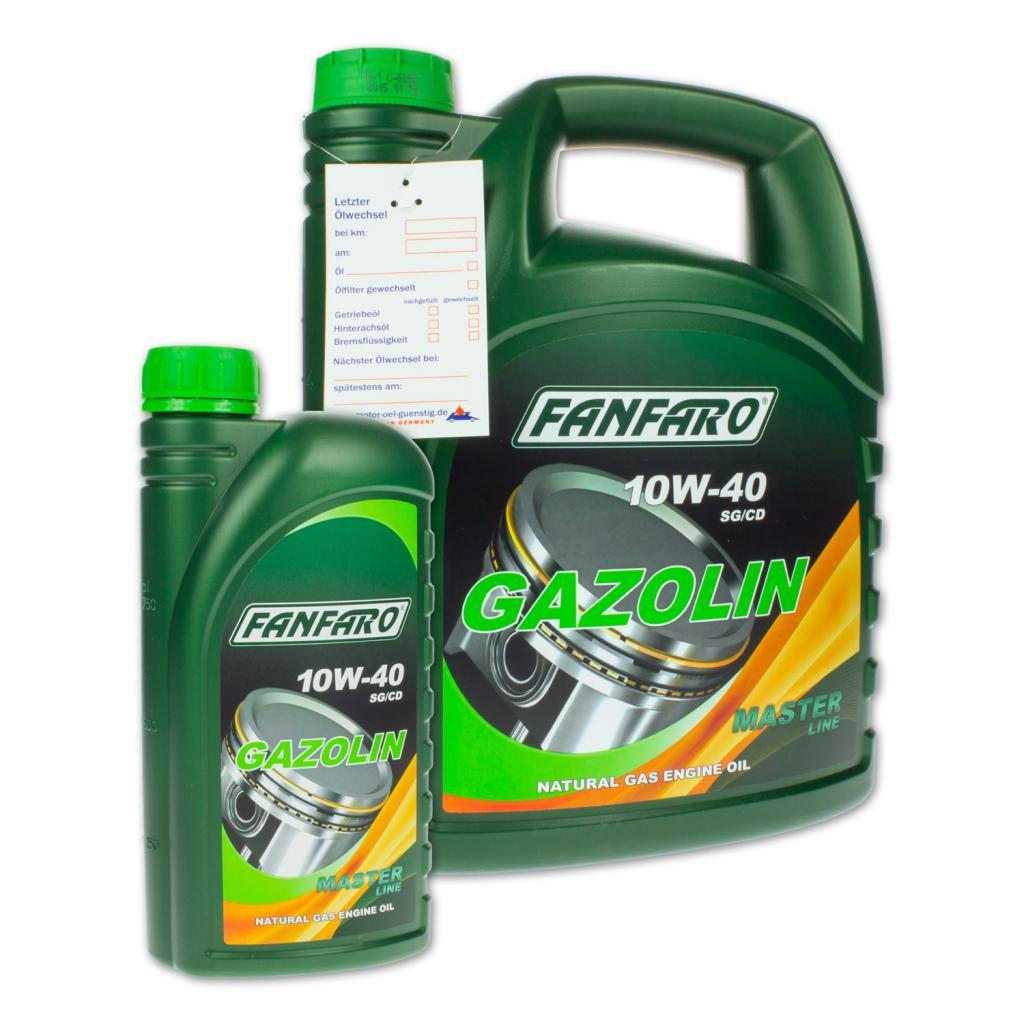 масло fanfaro 10w 40
