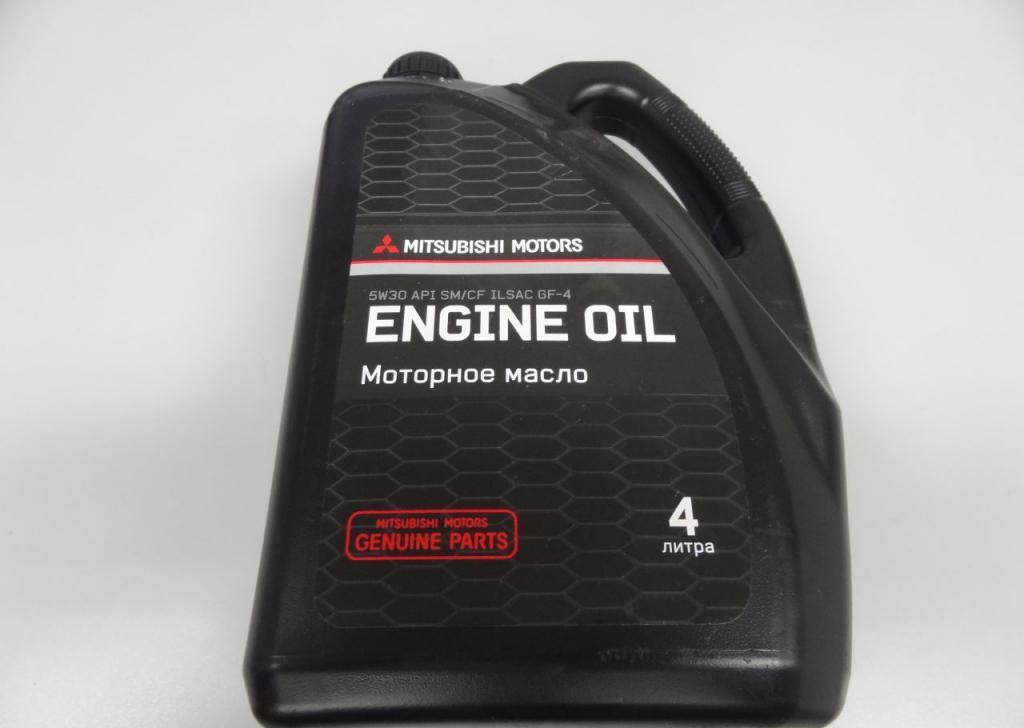 оригинальное моторное масло mitsubishi