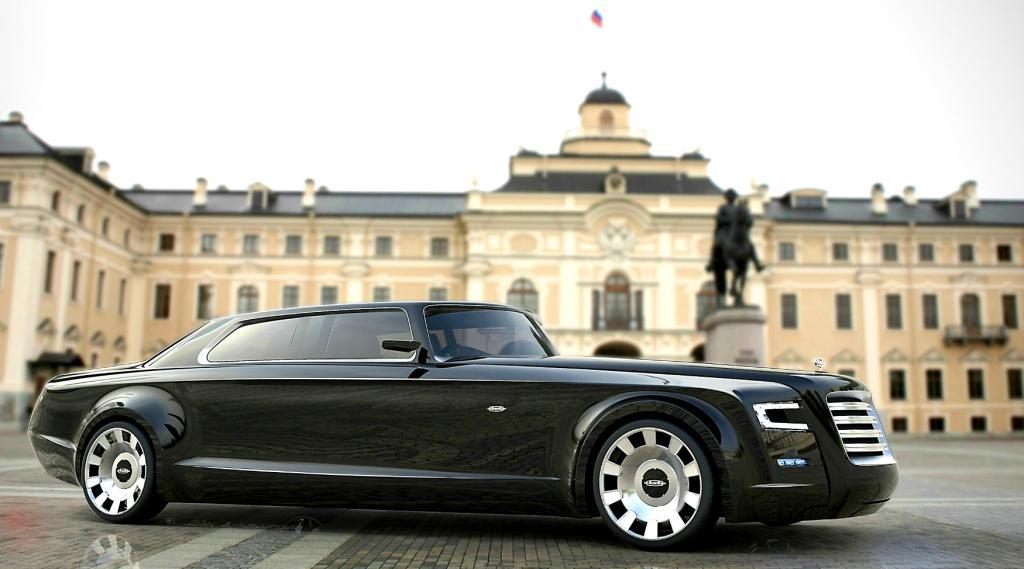новые машины президентского кортежа