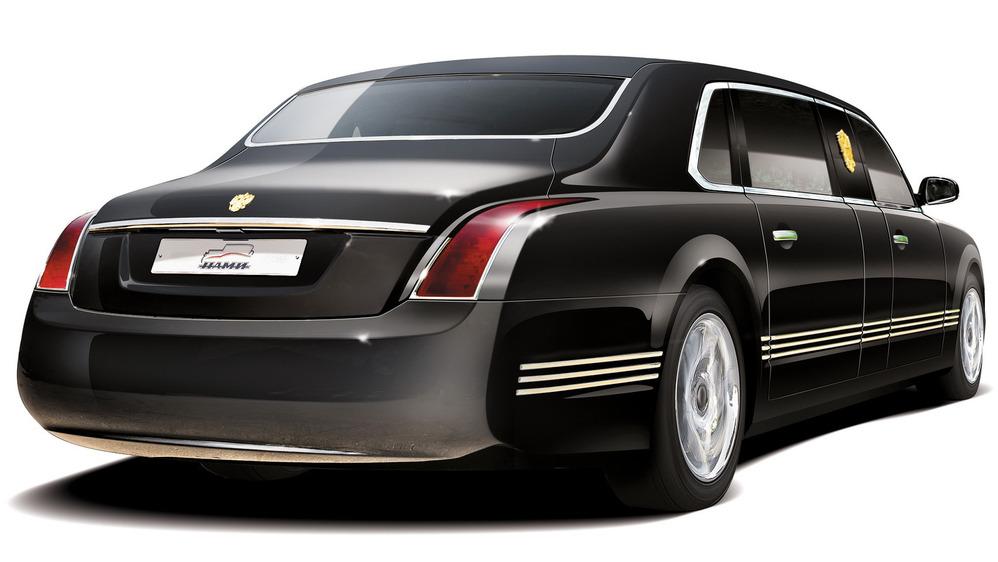 президентский автомобиль кортеж