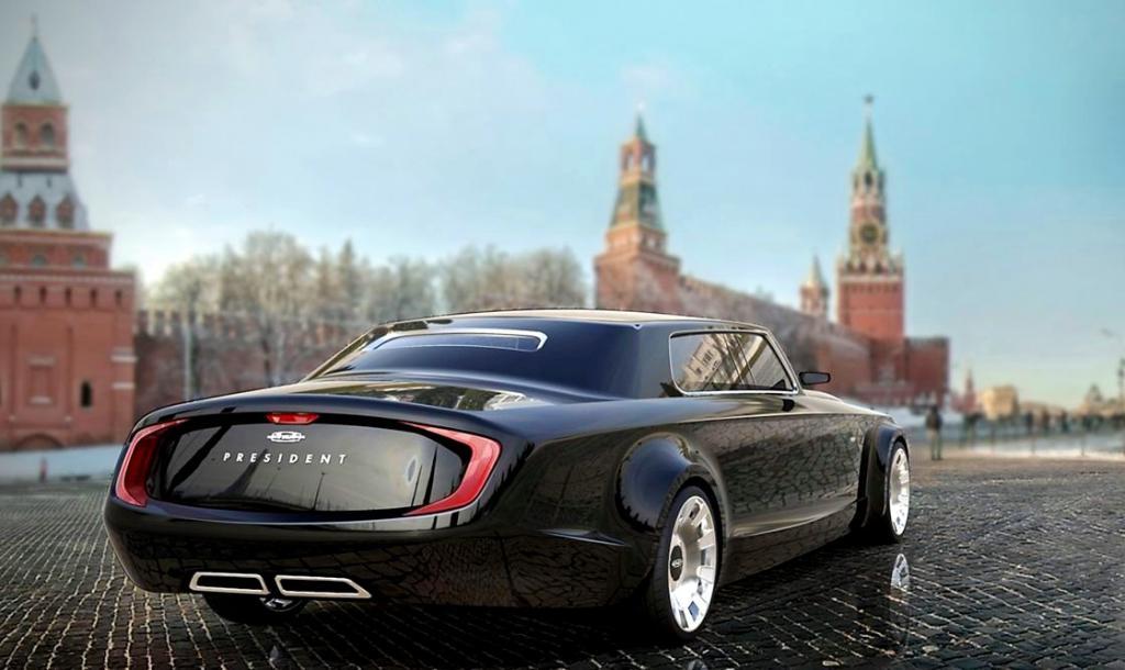 президентский автомобиль отечественного производства кортеж