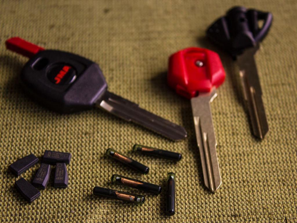 чип иммобилайзера в ключе