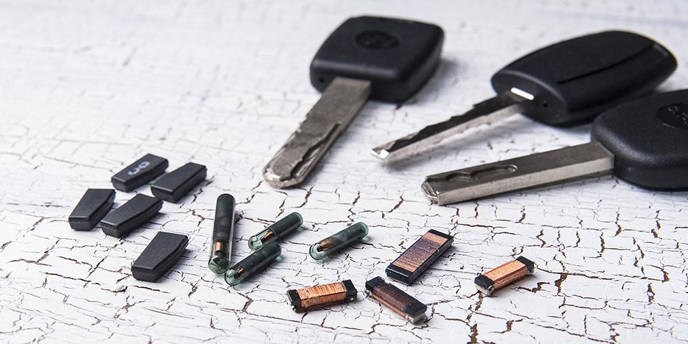 duplicate immobilizer chip