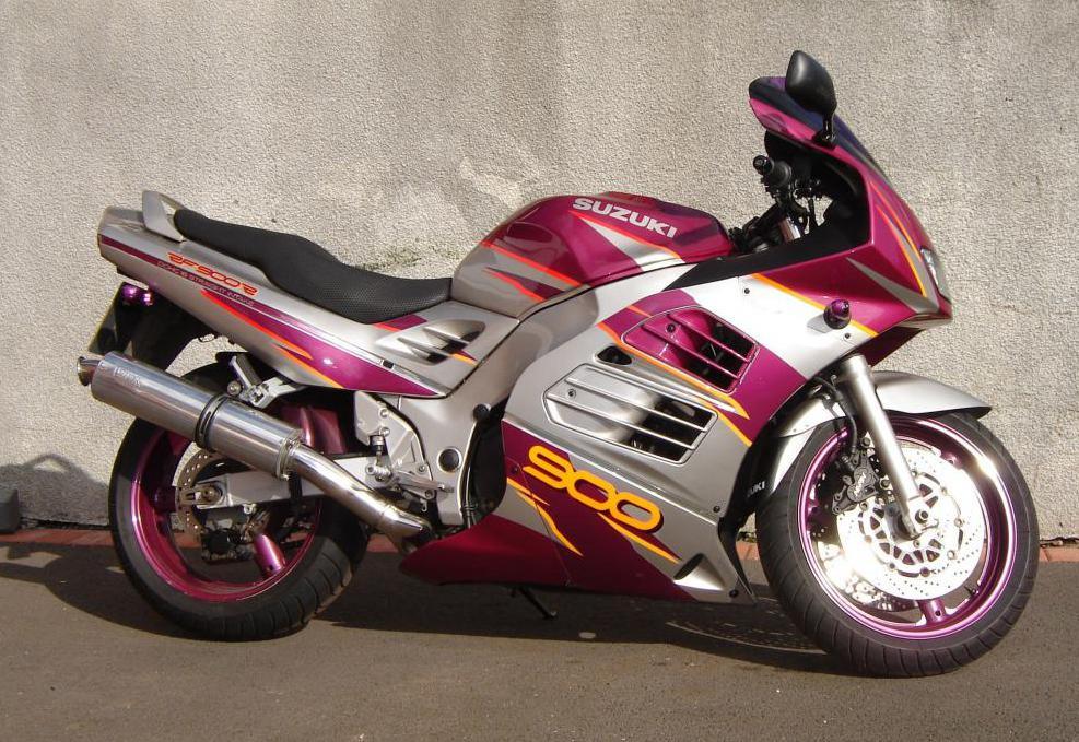 двигатель suzuki rf 900