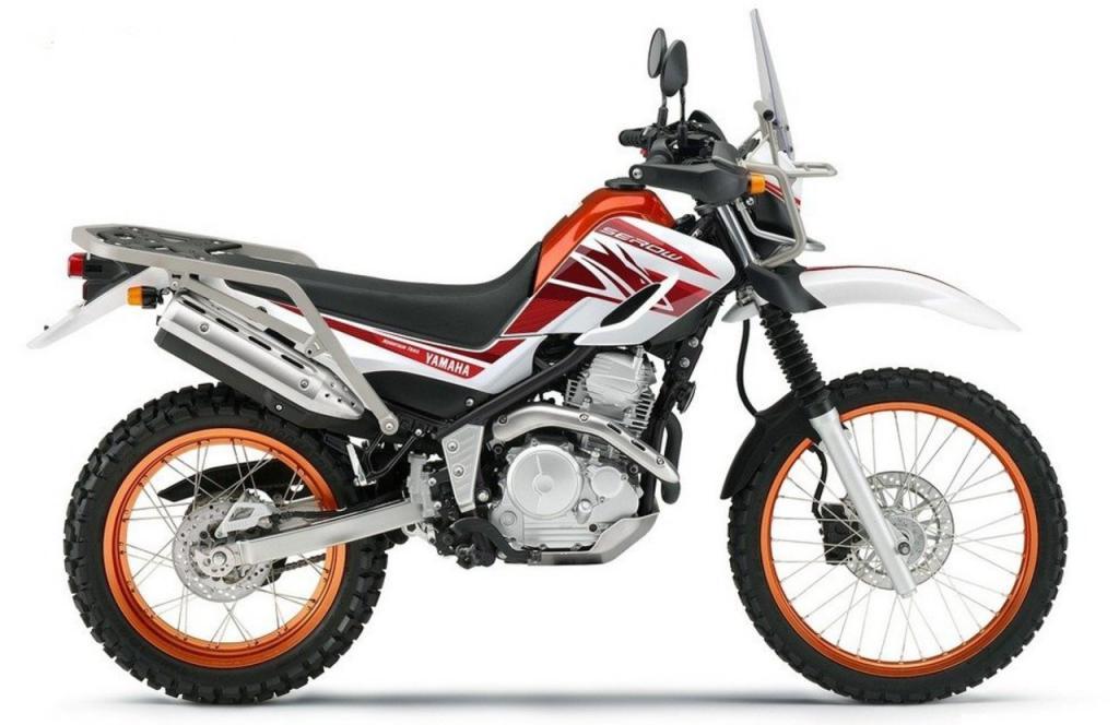 Мотоцикл Yamaha Serow 250: обзор, технические характеристики