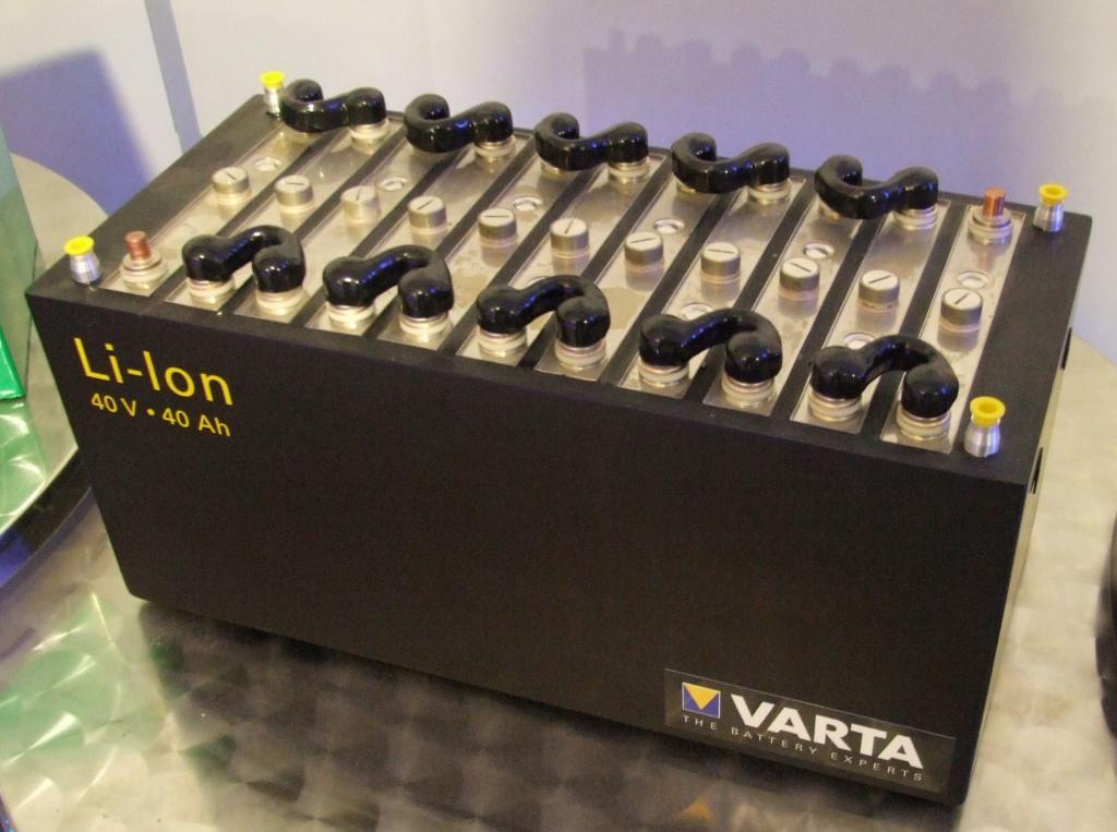 литий ионный аккумулятор для автомобиля