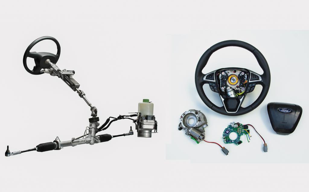рулевое управление тормозная система