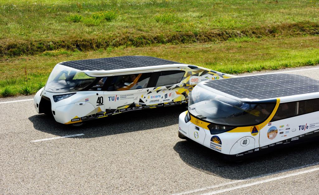 гоночный автомобиль на солнечной батарее