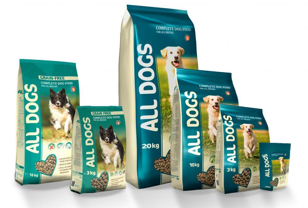 Корм для собак All Dogs: обзор состава и отзывы