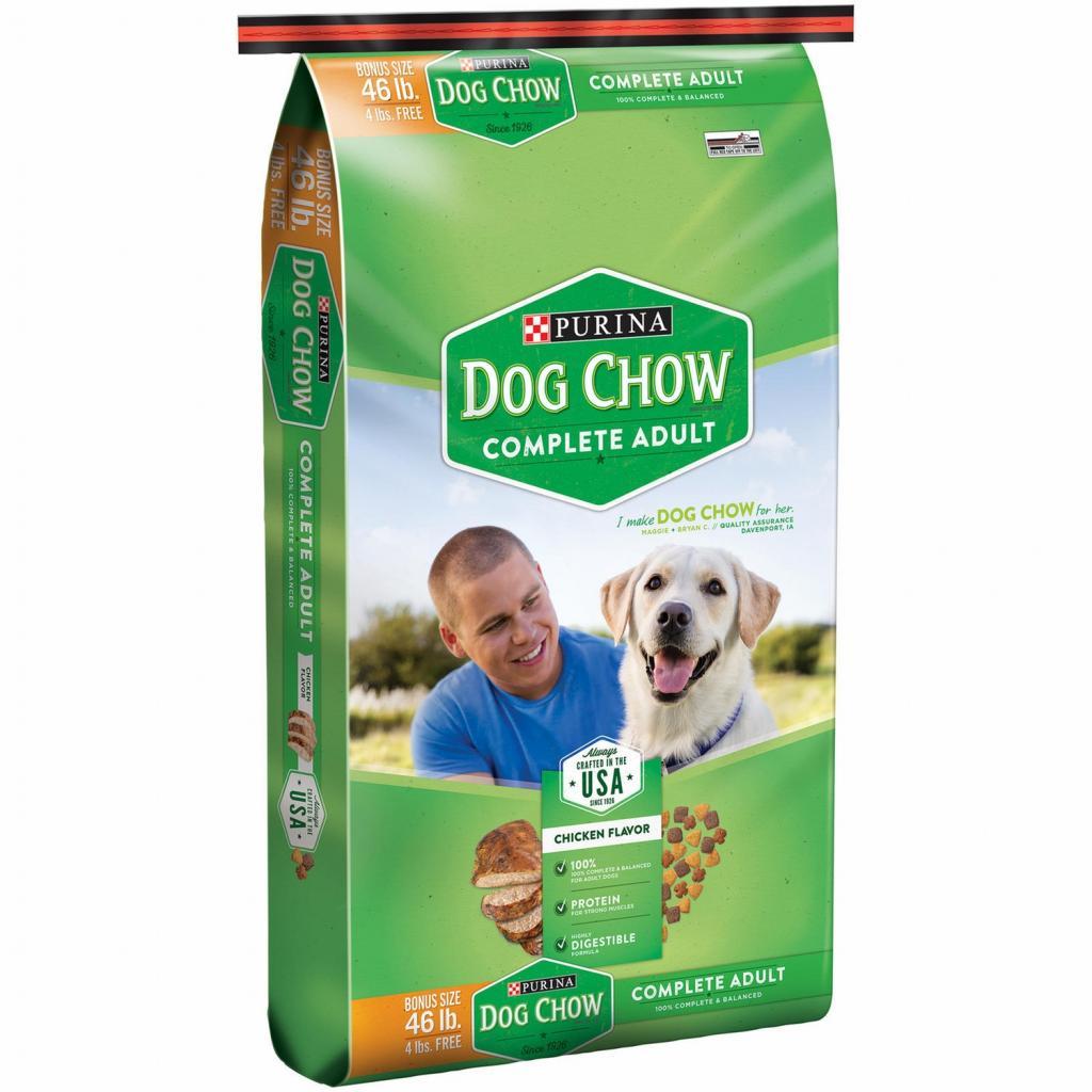 dog chow корм для собак отзывы