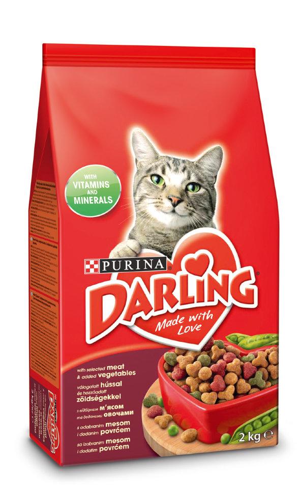 корм для кошек дарлинг