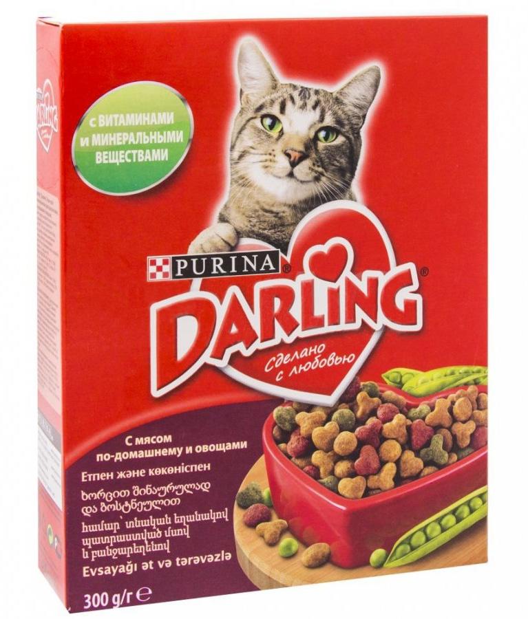 корм дарлинг для кошек отзывы