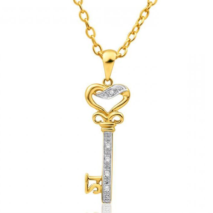 подвески из золота с бриллиантами