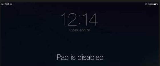ipad отключен подключитесь к iTunes что делать