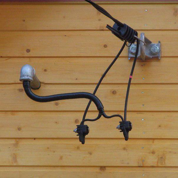 трубостойка для ввода электричества фото