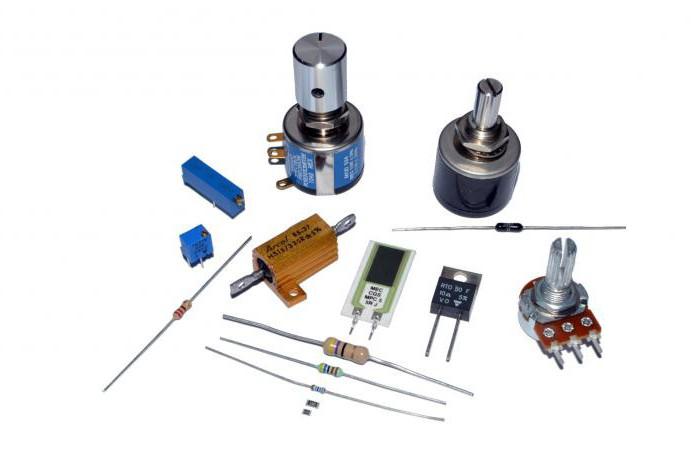 Разные резисторы