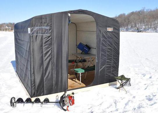 Зимняя палатка для рыбалки своими руками 47