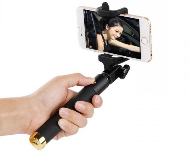 как подключить селфи палку к телефону леново