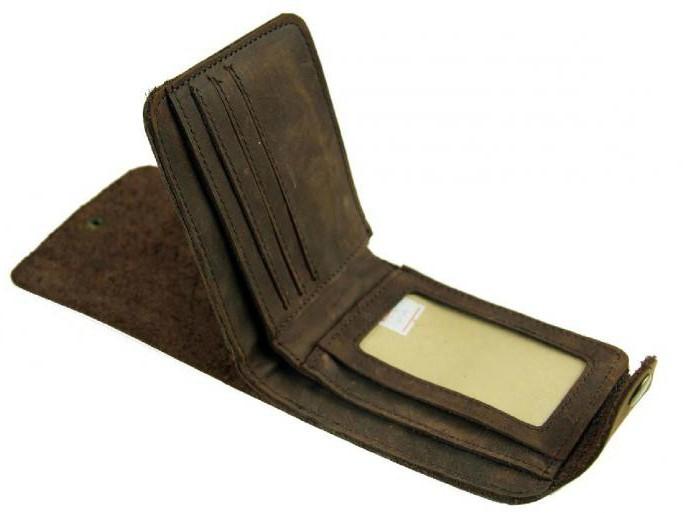 мужское портмоне для документов и денег фото