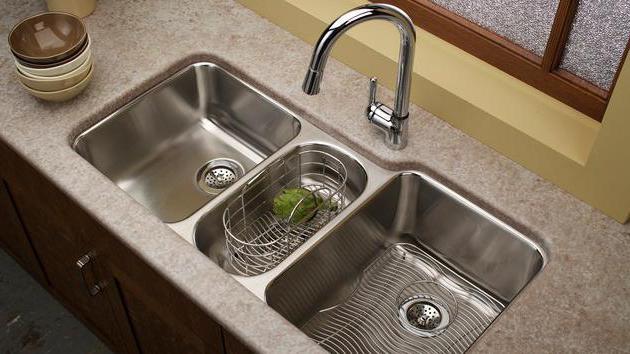 Sink Dapur Yang Terbuat Dari Batu Tidak Memerlukan Penyelenggaraan Kompleks Untuk Memastikan Bahawa Ia Meninggalkan Perceraian