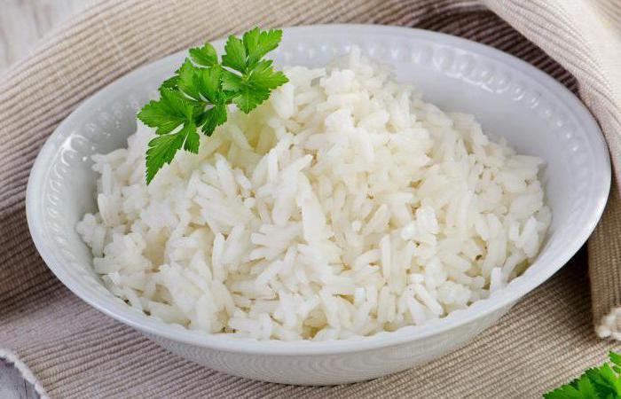 сколько углеводов в рисе 100 грамм