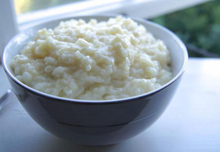 каша рисовая вред и польза