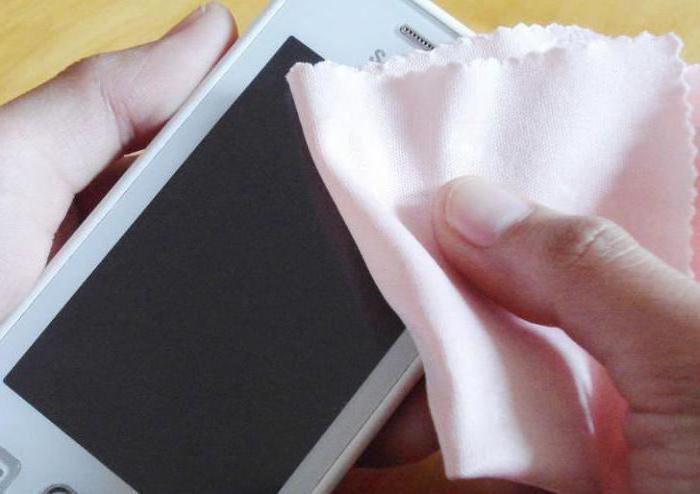 как отполировать стекло на телефоне