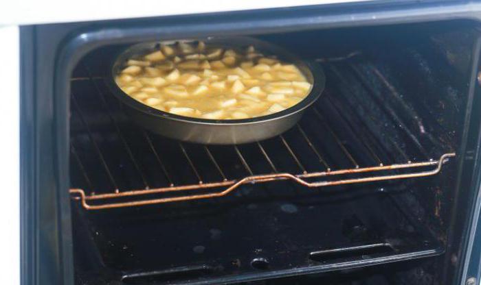яблочный бисквитный пирог простой рецепт