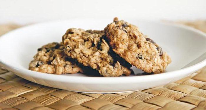 Овсяное печенье рецепт по