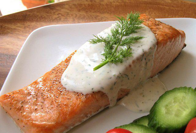 Рыба, запеченная в сливках - пошаговый рецепт с фото на ...