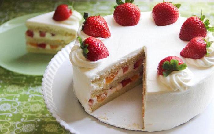 торт из бисквита и сгущенки