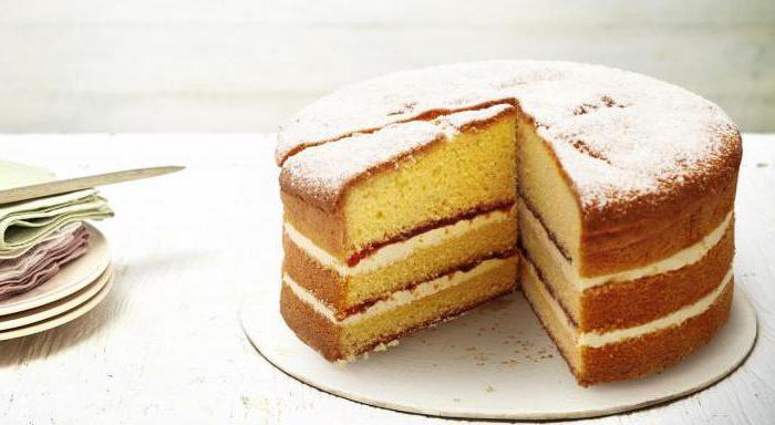 начинка для тортов из бисквита