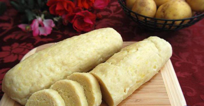 Галушки картофельные: рецепт