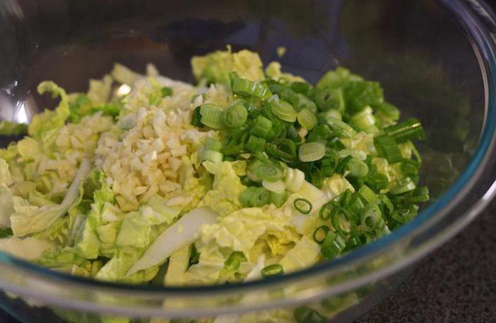 пекинская капуста рецепты салатов без майонеза