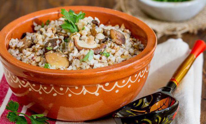 рецепт горшочки в духовке мясо и грибы