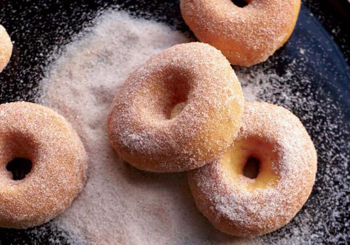 как делать тесто на пончики