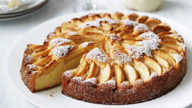 яблочный пирог в домашних условиях