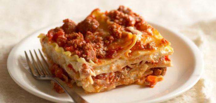 Лазанья рецепт с фаршем и сыром 170