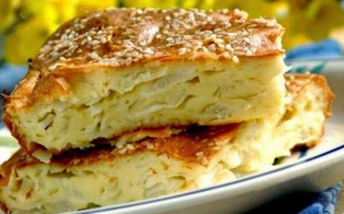 Пирожки с капустой на сметане в духовке
