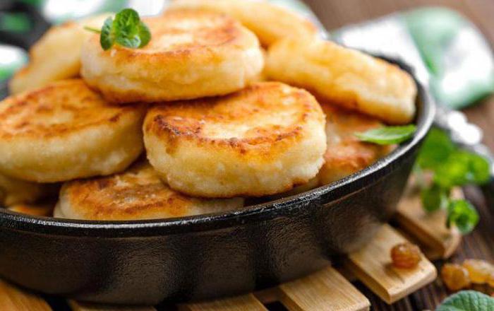 сырники из домашнего творога на сковороде