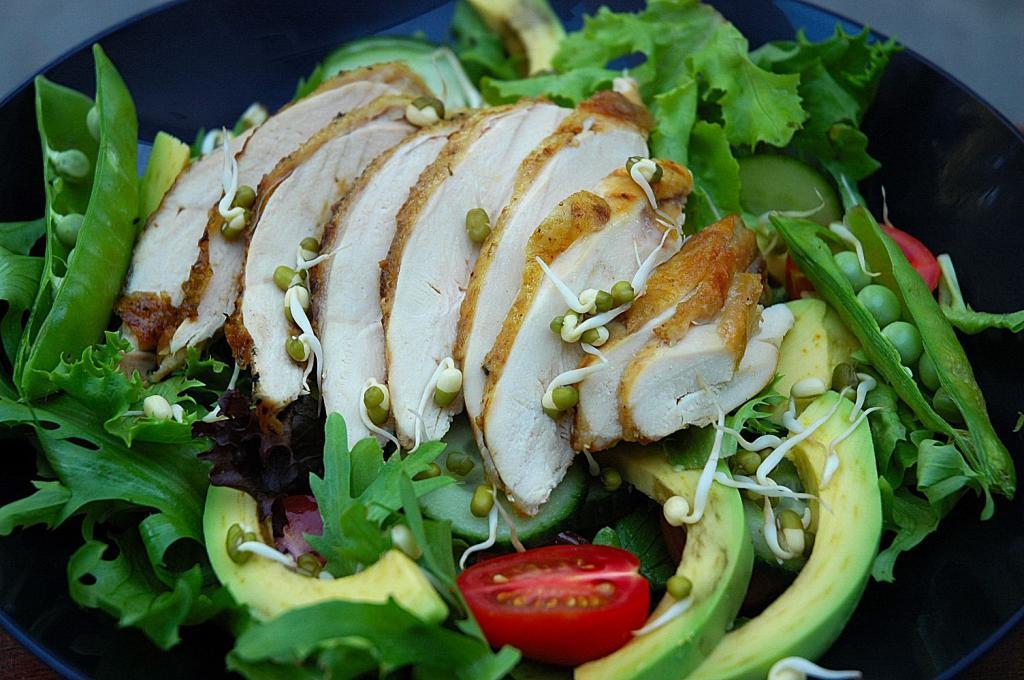 государственного рецепты мясных салатов с картинками может
