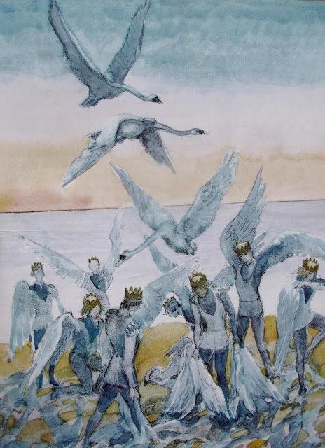Андерсон краткое содержание сказки дикие лебеди