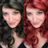 Как поменять цвет волос с темного на светлый