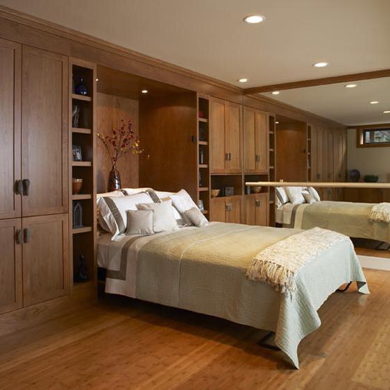 встраиваемые кровати в шкаф