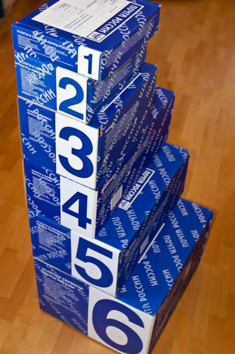 почтовые коробки для посылок