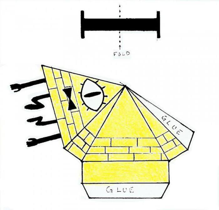 Как сделать Билла шифра из бумаги. UA-tv