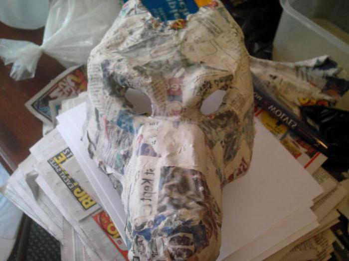 как сделать страшную маску своими руками на хэллоуин