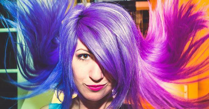 цветная краска для волос Crazy Color