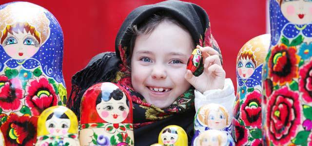 знакомство детей с фольклором