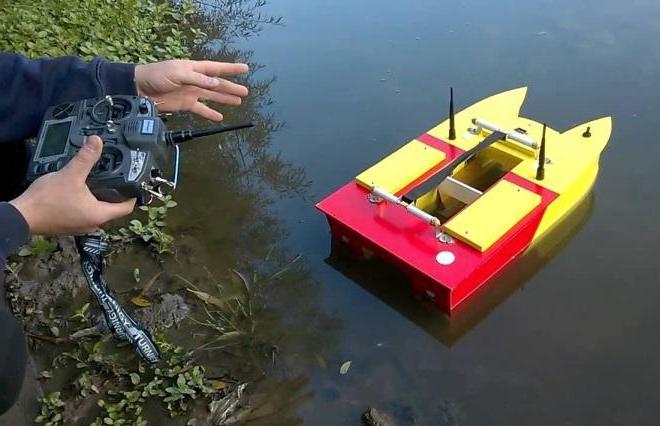 Ловля на реверсивный кораблик